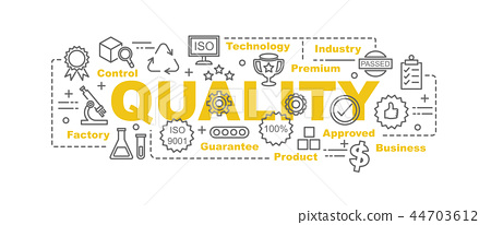 quality control vector banner 44703612