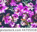 floral, watercolor, seamless 44705038