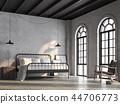 房间 床 室内装饰 44706773