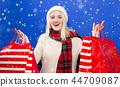 女人 女性 购物 44709087