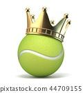 ball tennis crown 44709155