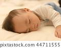 Sleeping baby 44711555