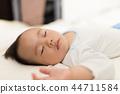 Sleeping baby 44711584
