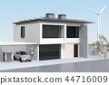 EV 사용한 전지 재활용 재사용 시스템에서 전기 자동차 나 집에 전력 공급 컨셉 44716009
