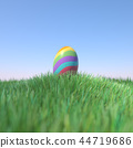 easter eggs color 44719686