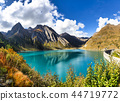 lake, forest, mountains 44719772