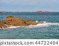 beach, brittany, seascape 44722404