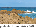 beach, brittany, seascape 44722405