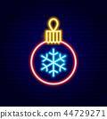 christmas, ball, snowflake 44729271