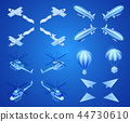 aircraft, air, isometric 44730610