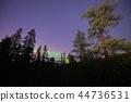 芬蘭的極光Saariselka 44736531