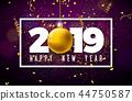 year 2019 decoration 44750587
