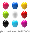balloon colorful 3d 44750968