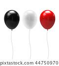 balloon black red 44750970