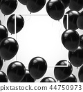 balloon black background 44750973