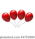 气球 汽球 红色 44750984