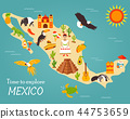 mexico map building 44753659