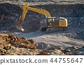 Construction site machinery 44755647