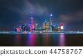 Shanghai city skyline Pudong side. 44758767