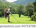 高尔夫 高尔夫球手 女人 44759788