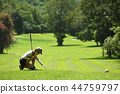 高尔夫 高尔夫球手 女人 44759797