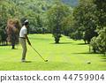 高尔夫 高尔夫球手 男性 44759904