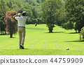 高尔夫 高尔夫球手 男性 44759909