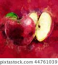 水果 红色 红 44761039