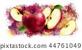 ผลไม้,สีแดง,แอปเปิล 44761049