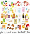 超市產品分類圖組 44763220