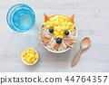 porridge, oatmeal, breakfast 44764357