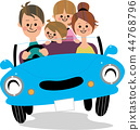 family, drive, driving 44768796
