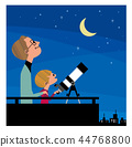 Father, son and astronomical observation 44768800