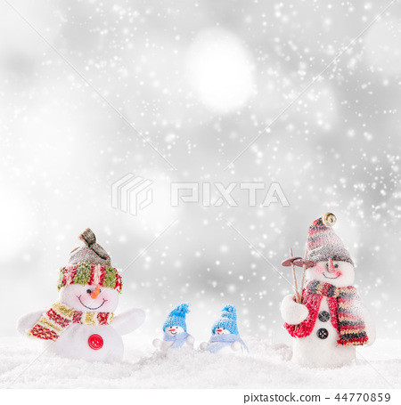 Christmas decoration with blurred background 44770859