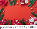 Merry Christmas decorations & Happy new year. 44774049
