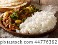 Chicken Do Pyaaza cooked in a variety of spices 44776392