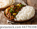 Spicy Chicken do pyaza curry 44776398