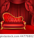 sofa theater curtain 44776802