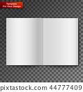 Blank open magazine 44777409