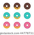 도넛, 빵집, 식품 44778731