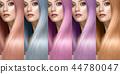 Hair collection Colors Set. Tints 44780047