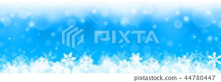 blue christmas background white snowflakes 44780447