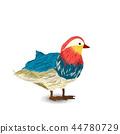 bird watercolor colorful 44780729