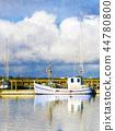 Sailing ship resting 44780800