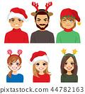 Christmas Headbands People Avatar 44782163