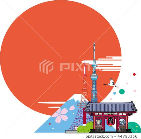 Japan Tourism Landmark 44783356