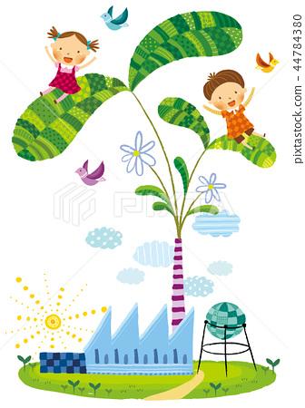 녹색성장,에너지,일러스트 44784380