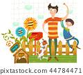 家庭,爱,插图 44784471