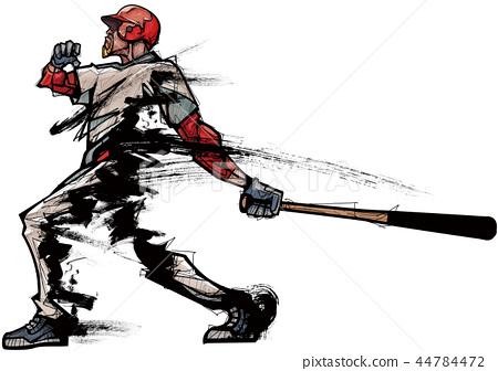 Sports, player, illustration 44784472