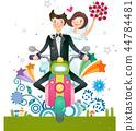 家庭,爱,插图 44784481